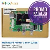 Mainboard Printer Canon ip2770, Motherboard 2770 ip 2770 Board Ori