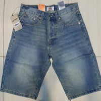 Celana Jeans pendek Levis original Surf Skate - Levis light blue 501