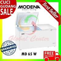 Md 65 W Chest Freezer Modena 650 Liter Original Garansi Resmi