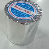 Kertas Struk Kasir / Cash Register Thermal Paper Rol 80 x 80 mm