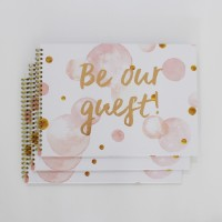 Guest Book - Pink Bubble