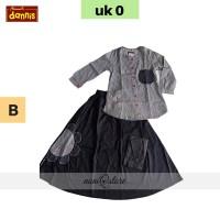 PROMO Setelan Anak DANNIS size 0 Gamis Baju Busana Muslim