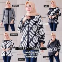 Batik Solo Blouse Monochrome Masayu Bumi Batiek Amanah Surakarta