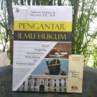 Jual Buku Pengantar Ilmu Hukum - Lukman Santoso & Yahyanto - BUKU ORI Murah
