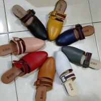 sepatu kulit wanita/tutong