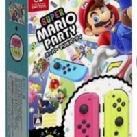 nintendo switch joycon super mario party packet