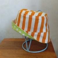 bucket hat polka batik size S for kids