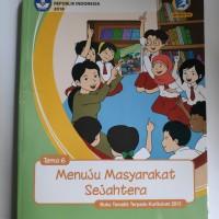 Buku Guru Tematik SD Kelas 6 Tema 6 Revisi 2018 Terbaru