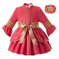 Baju Dress Pesta Anak Wanita Eleanora 02 Sleeve Dress