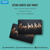 Harga Termurah Cetak Kartu Hot Print Kualitas ATM