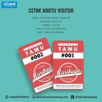 Termurah Cetak Kartu Visitor Kualitas ATM