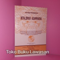 Betaljemur Adammakna Bahasa Jawa