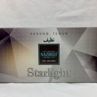Promo Outlet Santri Grosir 10pc - Sarung Tenun Nazheef Starlight
