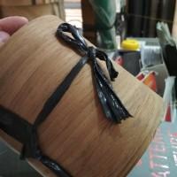 veneer kulit kayu jati/ teakwood