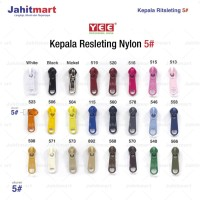 """KEPALA RESLETING / RITSLETING """"YEE"""" 5#"""