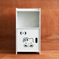 DS008NW Decorative Storage / Meja Samping / Meja Nakas DOMESTIC