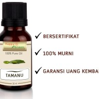 Happy Green Tamanu Oil (30 ml) - Minyak Tamanu Murni 100% Natural