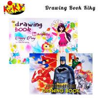 Buku gambar A4 Drawing book merek Kiky /Drawing Book Kiky A4 (20x30)
