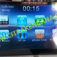 PAKET DOUBLEDIN LCD MIRRORLINK + KAMERA