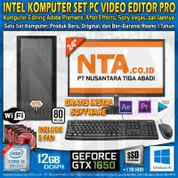 INTEL KOMPUTER SET PC VIDEO EDITOR PRO