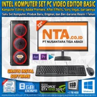 INTEL KOMPUTER SET PC VIDEO EDITOR BASIC
