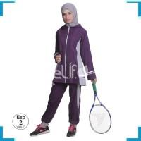 Pakaian Olahraga Wanita A7494 Elif Sport 2 KAOS OLAHRAGA Baju Kaos
