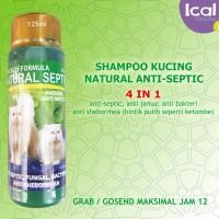 Shampoo Kucing Natural Septic 4 In 1 Anti B4kteri Dan Jamur