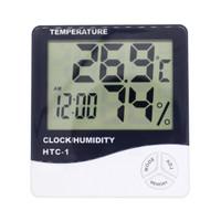Humidity Kelembaban Suhu Temperatur Jam Digital Sensor Alarm HTC 1 2