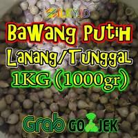 Bawang Putih Tunggal Lanang 1kg Mentah 1 kg Kilo Kiloan 1000gr 1000 gr