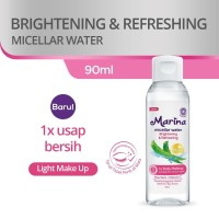 MARINA MICELLAR WATER 90 ML - BRIGHTENING & REFRESHING