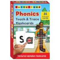 Kartu flash bertekstur / Letterland Phonics Touch & Trace Flash Card