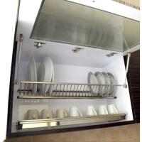 Rak Piring Gantung Stainless Winston 70 Cm WW 304E for Kitchen Cabinet