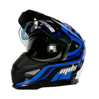 Helm MDS SUPER PRO #01 Black/White/Blue Original