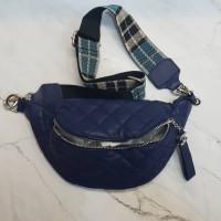 Tas Waist Bag Wanita Chanel - Silver