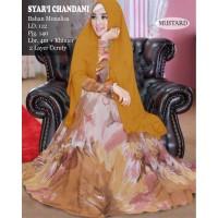 REALPICT - Gamis Monalisa - Syari Chandani Mustard Hijab Good Quality