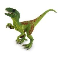 Velociraptor Green Figure Dinosaurus Model Simulasi Dino