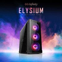Casing Infinity Elysium - Gaming Case ATX Mid Tower