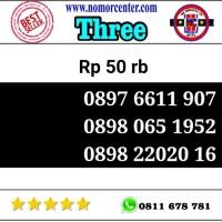 Kartu perdana Three Seri Tahun 1907-1952-2016 0898 220 2016 y4