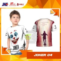 Kaos Baju Tshirt Anak Joker The Movie 2019 04 Fullprint Custom