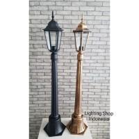L6057 Lampu Taman stand berdiri waterproof pilar pagar outdoor e27