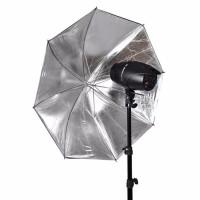 Payung Reflektor 110cm 43Inch Hitam Silver 60cm Fotografi