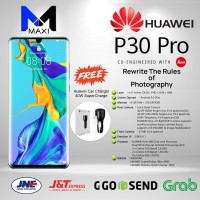 Huawei P30 Pro Ram 8gb Rom 256gb Garansi Resmi Mystic Blue- Limited