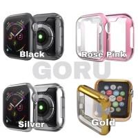 Soft case apple watch series 5 4 TPU 40 44 mm screen cover warna
