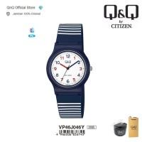 Q&Q QnQ QQ Original Jam Tangan Wanita Analog - VP46 VP46J Jelly 10 BAR