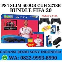 PS4 Slim 500GB 2 Stik Original Garansi Resmi Sony
