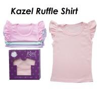 Kazel Ruffle Tee Tshirt Kaos Bayi