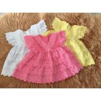 v neck Baby Dress termasuk celana