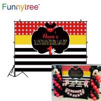 Funnytree photography backdrops polka dots black white stripes