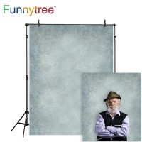 Funnytree photography backdrops gray pure color classic portrait old