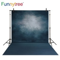 Funnytree photography backdrops pure color hazy fuzzy gray portrait